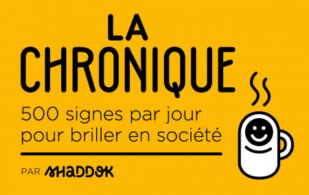 logo_la-chronique_baseline_fondjaune_byshaddok_picto